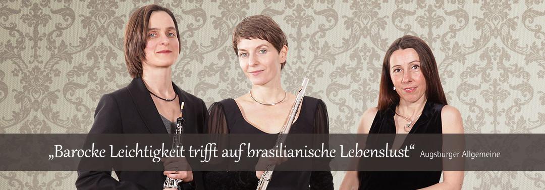 Subéja Trio - Brasilianische Lebenslust