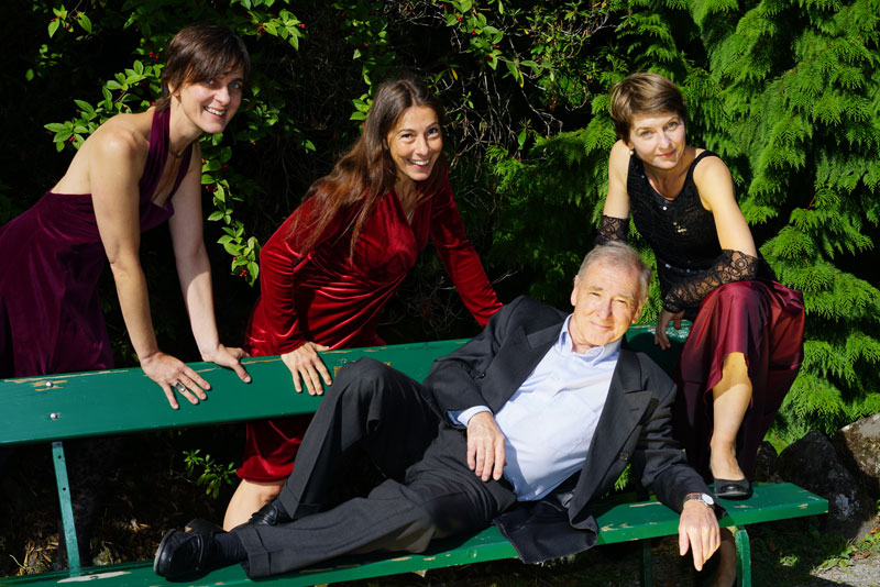 Subéja Trio und Carlo Ghirardelli
